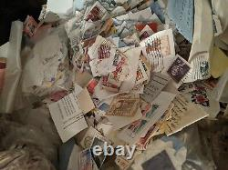 10 Pounds of USA and Worldwide Stamps on paper Free Shipping