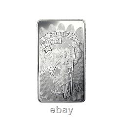 10 oz DGSE. 999 AG Silver Bar Unity Symbol Stamped