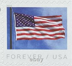 1000 (50 Sheets of 20) USPS Forever Stamps American Flag First Class Postage