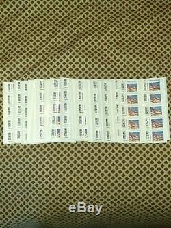 1000 US Flag USPS First-Class Forever Stamps Authentic USPS Postage $500 RV