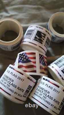 1000 USPS US Flag Forever Stamps 2017