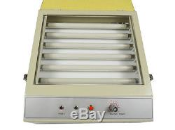 110V Electric Pad Printing Hot Stamping UV Exposure Unit 10.2X8.3 inch logo DIY