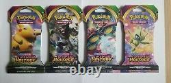 144 Vivid Voltage Booster Packs Sleeved SEALED CASE BOX Pokemon Sword & Shield