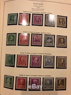 1600+ Huge U. S. Stamp Collection National Postage Stamp Album Scott 1847 -1970s