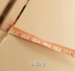 18k Solid Diamond Cut White Gold 2 Piece Set Bangle 12.3 gram 750 stamped