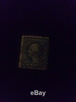 1912 1922 GREEN George Washington Bullseye RARE One 1 Cent Stamp