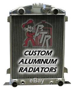 1932 Ford FLAT HEAD Radiator (Aluminum stamped tank)