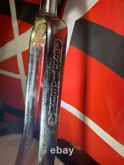1978 Chrome Stamped Ashtabula Forks BMX Old School