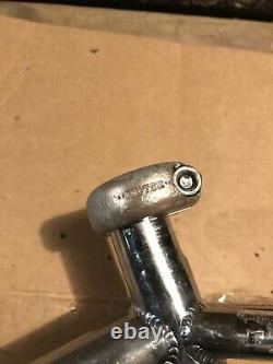 1982 Hutch Pro Racer Pre Serial Frame Chrome ORIGINAL STAMPED SEAT CLAMP ONLY