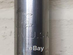 1982 Mongoose Stamped Stainless Steel Seatpost/ Old School BMX