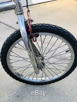 1984 FS Stamped Gt Pro Performer Vintage Old School Survivor Bmx Bike 20