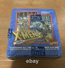 1993 Marvel X-Men Series 2 Trading Cards Box SkyBox NEW SEALED