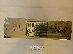 1994 Marvel Masterpieces Factory Sealed Box Hildebrandt Brothers Fleer, 36 packs