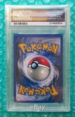 1999 Pokemon Jungle PIKACHU 1st Ed Wizards Gold Stamp Duelist Promo #60 PSA-10