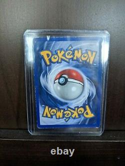 1st Edition Holo Charizard Shadowless 1999 4/102 (Rare thick stamp)