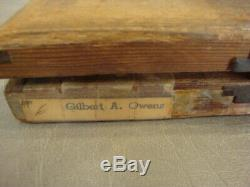 2 Vintage Boxes KINGSLEY Stamping Machine Hot Foil STAMPS Font Spartan Medium