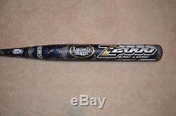 2013 OG Louisville Slugger Z2000 Softball Bat SB13ZAE 34/27 ASA USSSA Dual Stamp