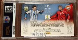 2014 Prizm World Cup Cristiano Ronaldo Lionel Messi Matchups RED /149 PSA 9 Mint