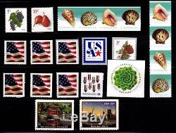 2017 Complete Commemoritive & Definitive year set (125 Stamps) MNH