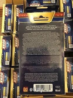 2020-21 Select Basketball NBA Hanger Box Lot of 23-Factory Sealed-1 Full Display