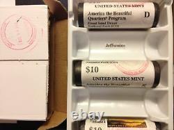 2020 P D S American Samoa Fruit Bat First Day Stamped Mint QUARTER ROLLS