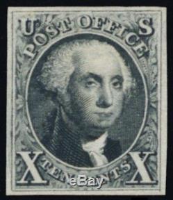 4, Unused Superb 10¢ Re-issue With PFC Certificate A GEM! -Stuart Katz