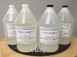 4 gals, TABLE TOP EPOXY RESIN, CRYSTAL CLEAR, HIGH GLOSS, ($38.15/gal) $152.60