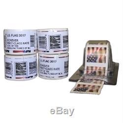 400 Forever Postage Stamps 4x Rolls Coil + BONUS Stamp Dispenser Keeper