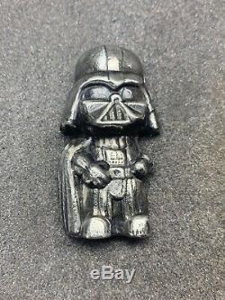 5 TR/OZ MK BARZ Vader LOGO Stamp 999+ FS Poured