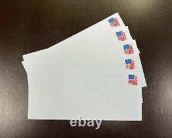 500 Forever Stamped Envelopes (White Security Tint Peel N Seal #10 Envelopes)