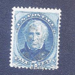 %88 OFF US Stamp 1875 Scott 181 CV $500,000.00 MNH, Special Print, 5c, Taylor