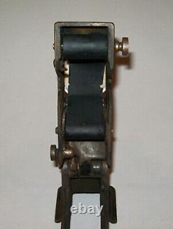 Antique Vtg 1910s Cosmo # 2 Ticket Validator B&O Railroad Stamp Dating Cancellor