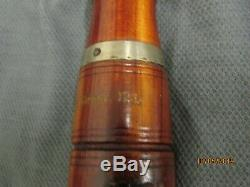 Antique Wooden Duck Game Call Charles Chas H Perdew Henry ILL Stamp NICE