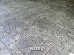 Ashler Notched Slate Single Concrete Stamp by Walttools (Floppy/Flex)