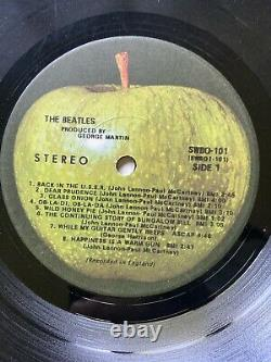 BEATLES'68 WHITE ALBUM 0007185 One KnownError & Double Stamp Side 4 1 Of 1