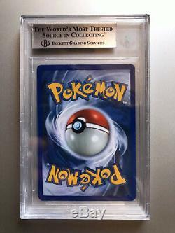 BGS 9 MINT Pokemon Charizard 1st Edition Base Set Holo 1999 THICK STAMP #4
