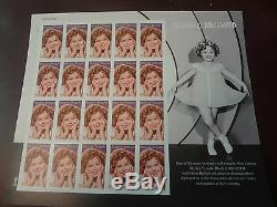 Beautiful! A Complete Set Of 20 Us Legends Of Hollywood Stamp Sheets