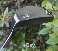 Black Lab Golf USA Milled BL-9 Putter Black OX Mallet Hand Stamped 355g Odyssey