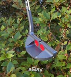 Black Lab Golf USA Milled BL-9 Putter Gray Hand Stamped Scotty Del Mar Odyssey 9