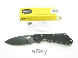 Buck 889 Strider Arrow Stamp Black Blade & Handle Tactical Folding Pocket Knife