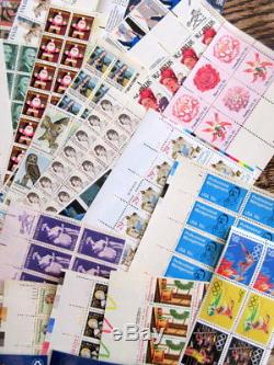 Bulk Usable US Postage Stamps Partial Sheets/Blks $235+ FV Discount Postage MNH