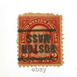 C. 1928 2-Cent Red George Washington U. S. POSTAGE STAMP