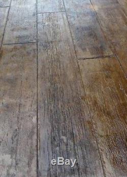 Centennial Plank 5 pc. Concrete Stamp Set (14 wide wood planks)