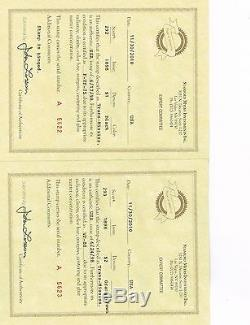 Certified, Graded Trans-Mississippi Stamp Collection Most Sought by Collectors