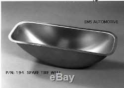 Chevrolet Chevy Car Stamped Steel Spare Tire Well 1941-1948 #194 EMS