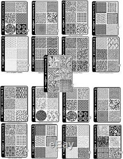 Rubber stamp textures by Clay Squishers great for polymer clay