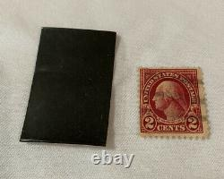 Collectible U. S. GEORGE WASHINGTON 2c Two Cent Red STAMP Very Rare