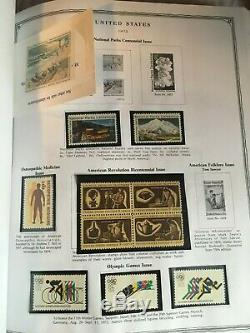 Collection of Mint US Postage Stamps 1855-Current in Scott Minuteman Album Lot
