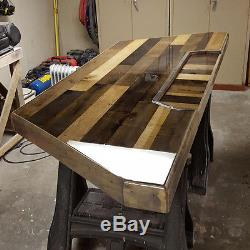 Crystal Clear Bar Table Top Epoxy Resin Coating For Wood Tabletop 10 Gallon Kit