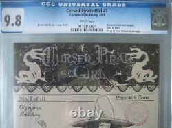 Cursed Pirate Girl #1 CGC 9.8 WP 2009 Hand Stamped Logo on Cover Rare